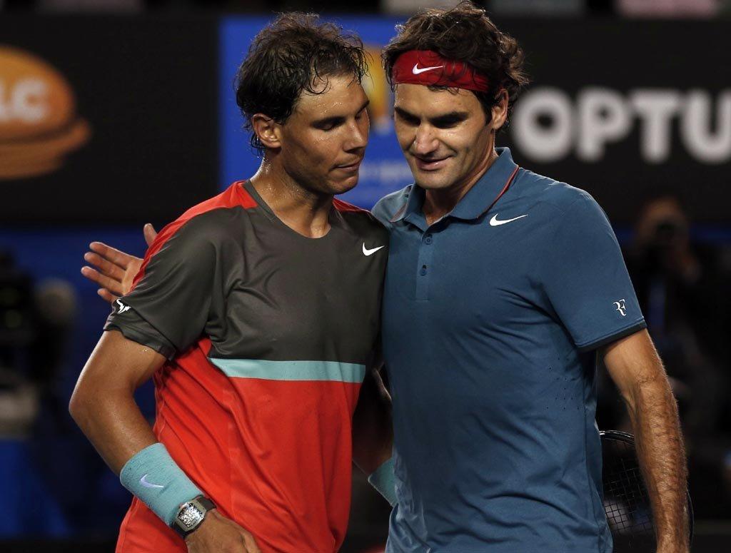 Federer x Nadal