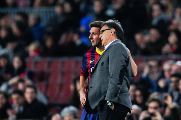 Tata Martino e Messi