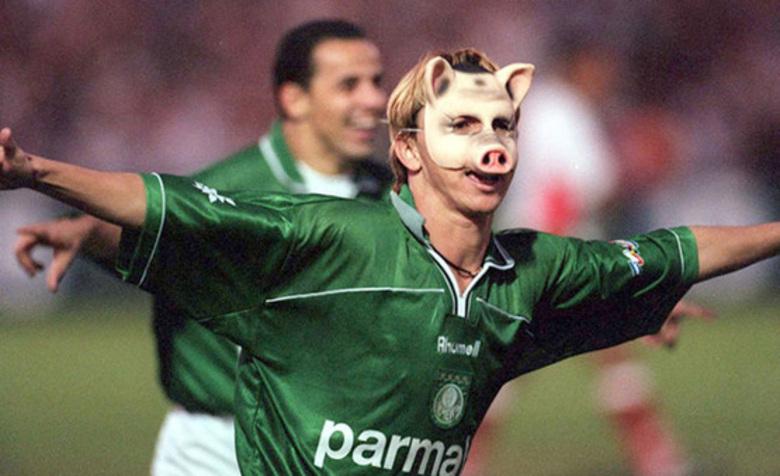 Há 30 anos, Palmeiras assumia o porco como identidade e mascote da ...