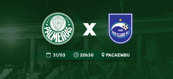 Palmeiras x Rio Claro