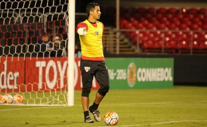 Renan Ribeiro, goleiro do São Paulo