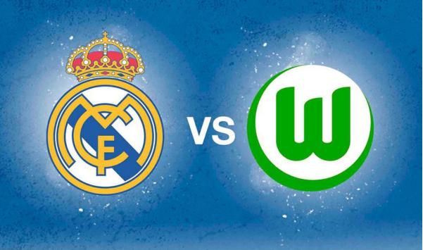 Wolfsburg e real madrid ao vivo