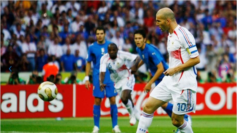 Copa do Mundo de 2006 - grandes craques - Zinedine Zidane
