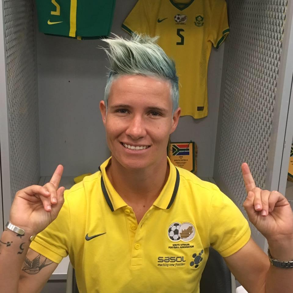 Janine van Wyk - Seleção feminina da África do Sul