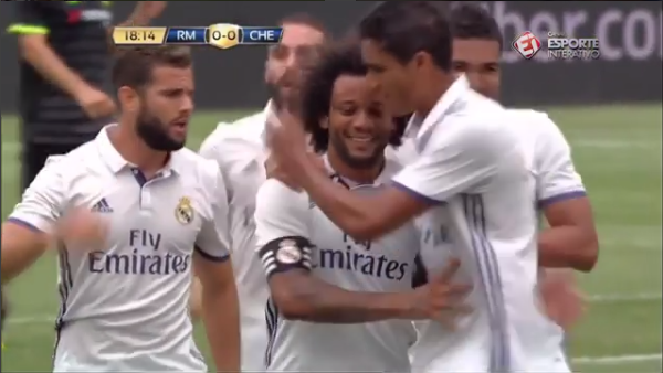 Real Madrid x Chelsea - gols - International Champions Cup