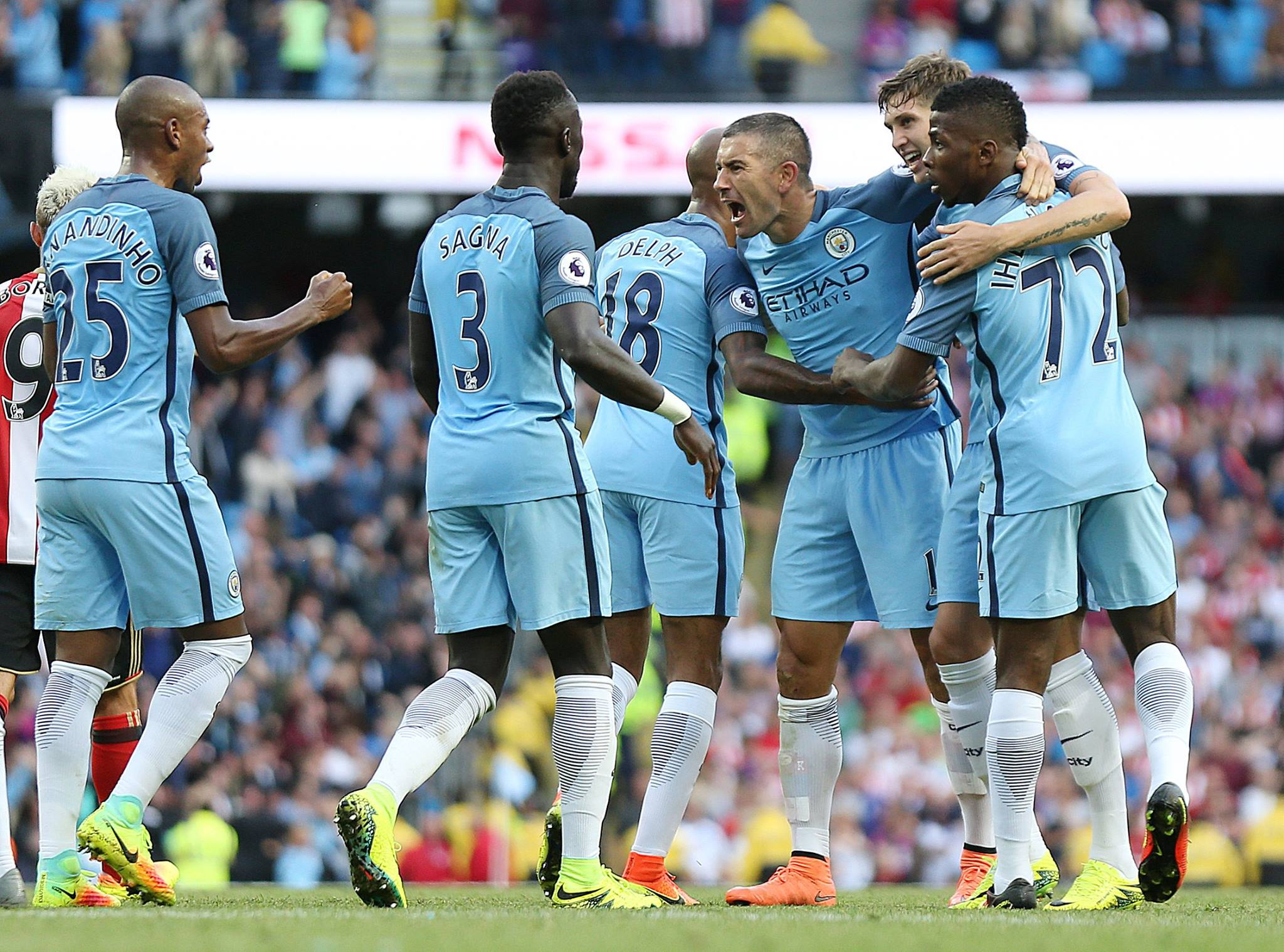 Manchester City x West Ham