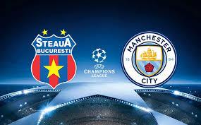 Steaua x Manchester City