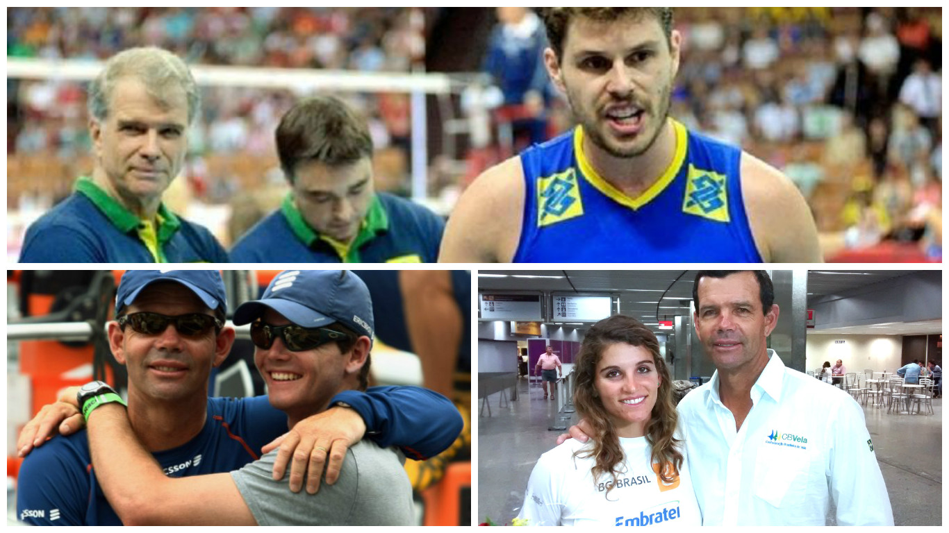 dia dos pais olímpico