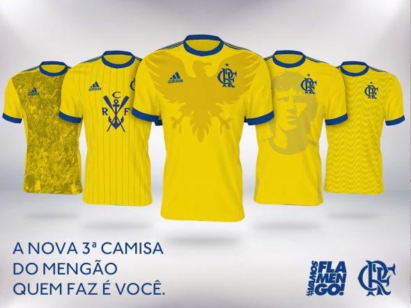 b1aff53646 Adidas faz campanha para torcedor desenhar uniforme do Flamengo ...