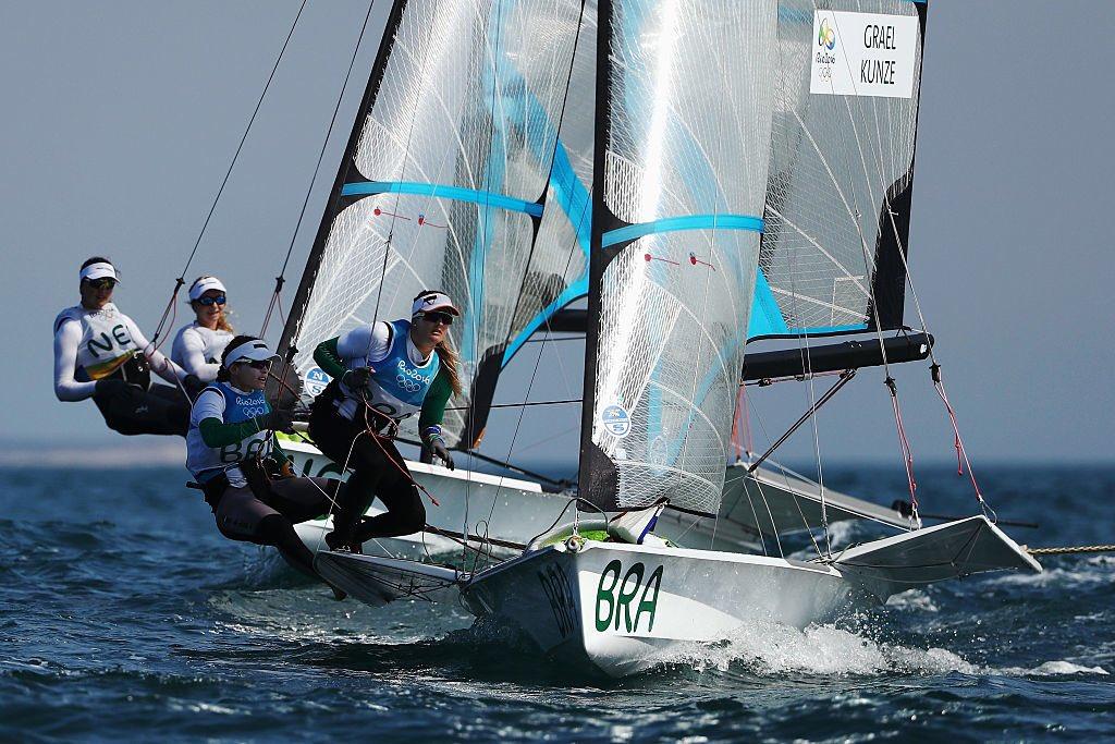 Martine Grael e Kahene Kunze ouro nas Olimpíadas Rio 2016