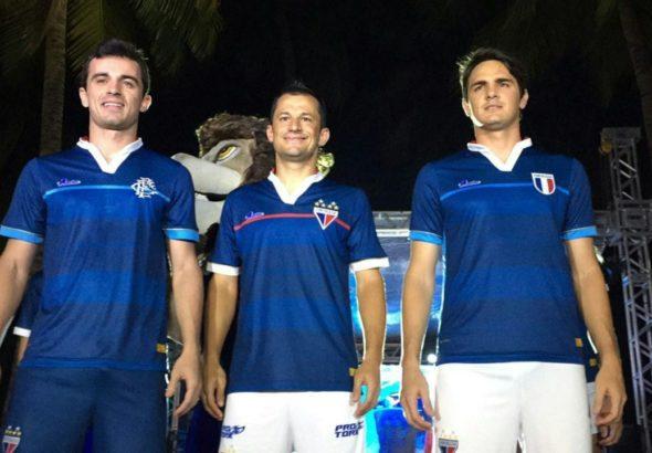 8e90004c0d Crédito: A nova camisa 3 do Fortaleza - Crédito: Reprodução/Site oficial do  Fortaleza