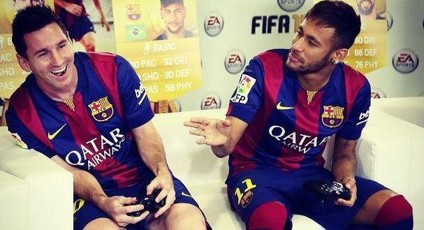 Messi não joga com o Barcelona no Fifa, revela ex-companheiro
