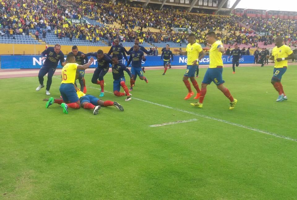 Equador passei contra o Chile nas Eliminatórias Sul-Americana