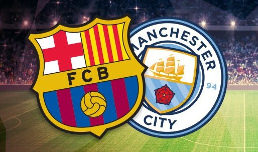 Manchester city e barcelona ao vivo