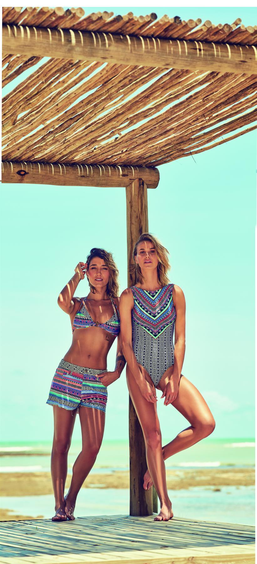 a9e1a6b4f5cf Gabriela Pugliesi e Renata Kuerten estrelam campanha da C&A Collection Cia.  Marítima | Torcedores.com