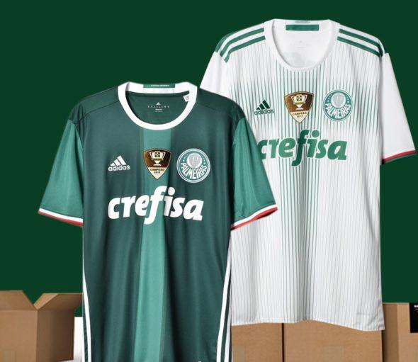 37d783742 Camisa do Palmeiras fica 40% mais cara após título brasileiro ...