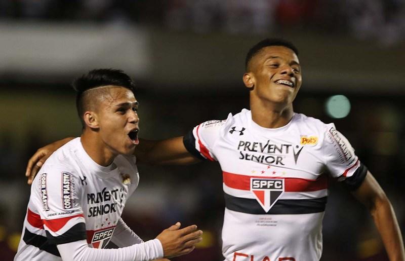 David Neres e Luiz Araújo saíram do São Paulo na Gestão Leco