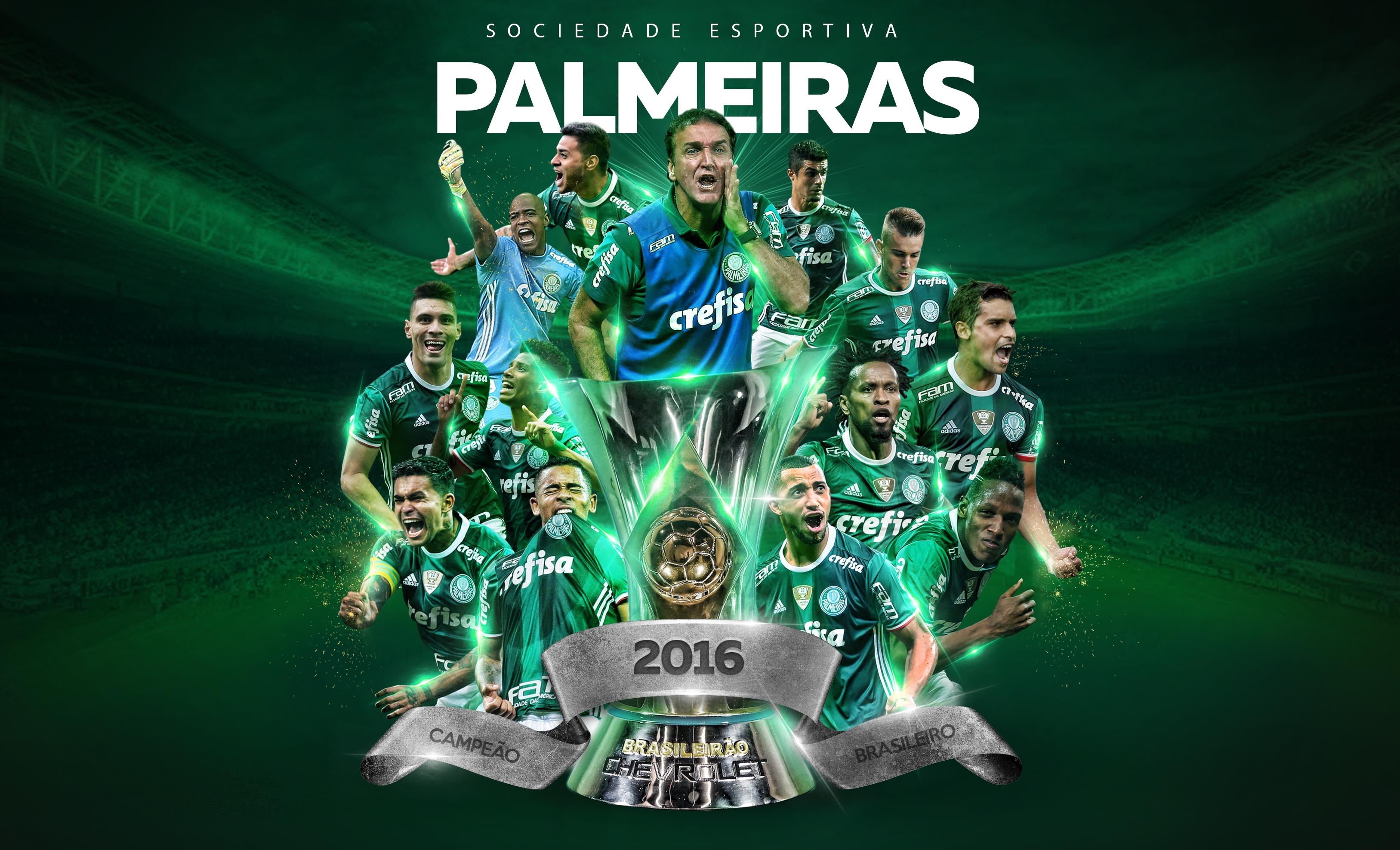 Palmeiras Campe U00e3o Baixe O Papel De Parede Do T U00edtulo Do