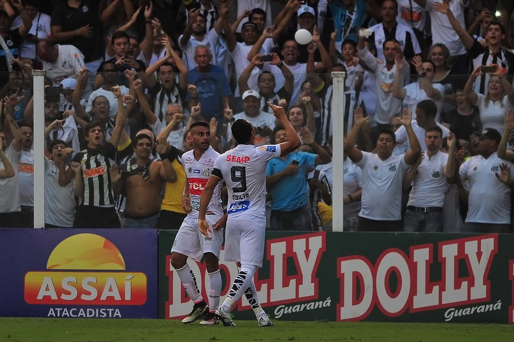 Próximo gol do Santos na Vila Belmiro será o centésimo na sequência invicta em Campeonatos Paulistas