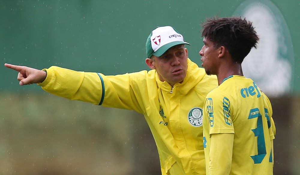 Eduardo Baptista e Vitinho Palmeiras
