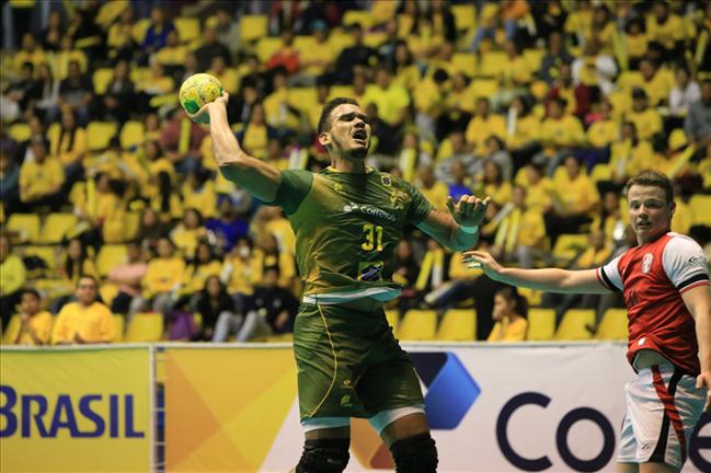 Seleção Masculina de Handebol garante vice em torneio pré-Mundial