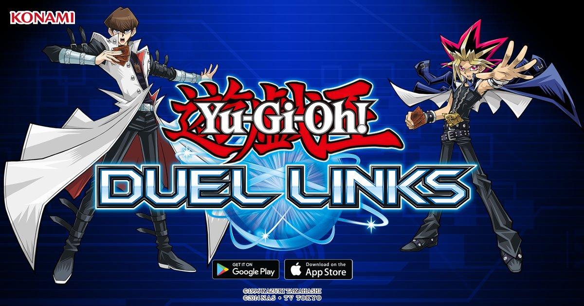 O duelo agora será nos smartphones! Conheça Yu-Gi-Oh Duel Links, o ...