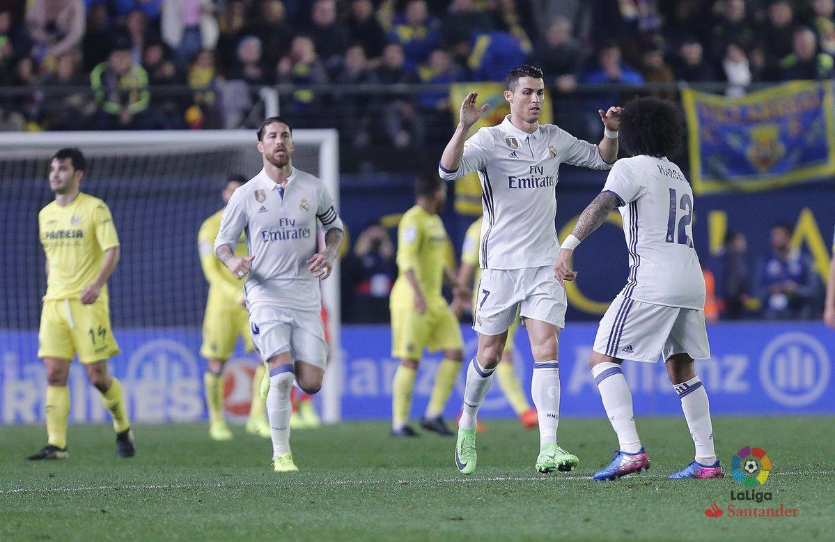 Villarreal x Real Madrid