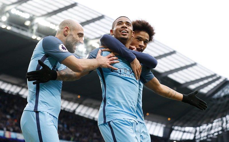Com dois gols, sendo um nos acréscimos, Gabriel Jesus dá vitória ao City no Inglês; assista
