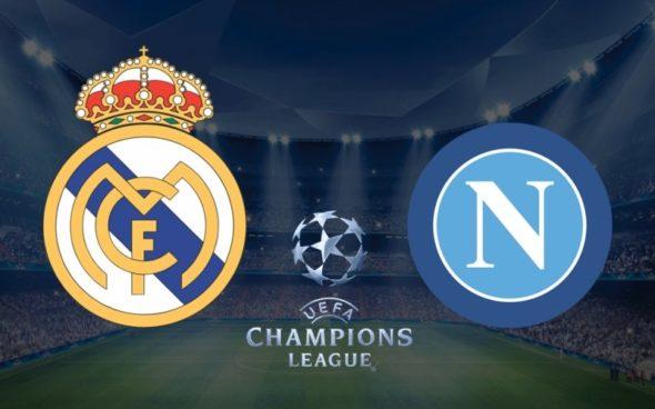 Real Madrid x Napoli