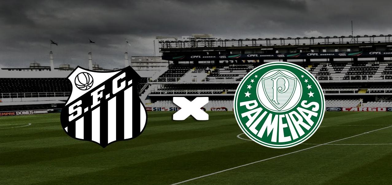 Resultado de imagem para Santos x Palmeiras