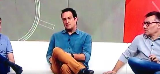 """Gian Oddi, comentarista da ESPN, """"culpa"""" concorrente por vídeo que o constrangeu ao vivo"""