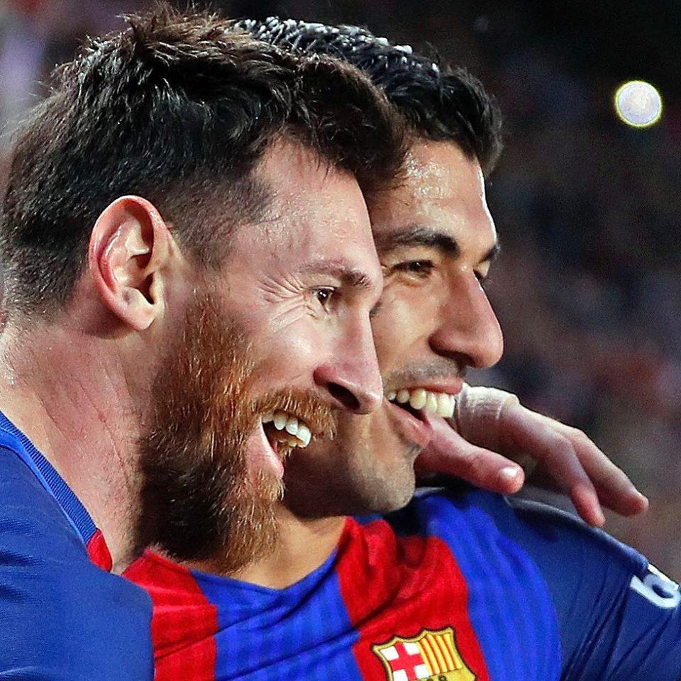 Messi e Suarez Barcelona