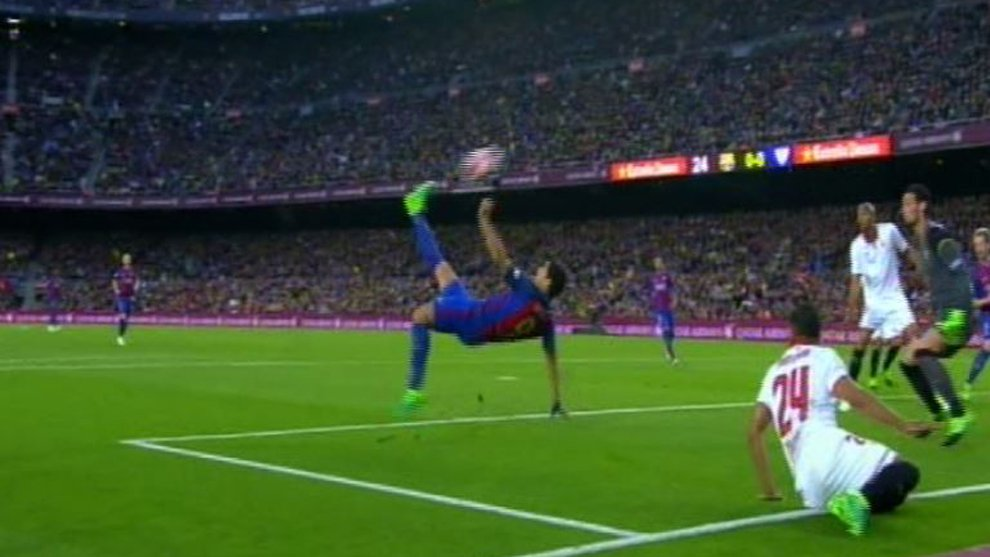 Suarez Barcelona x Sevilla