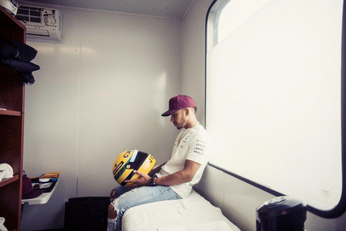 F1 Hamilton e Senna