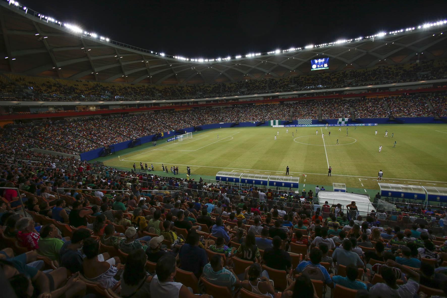 COPA CAIXA 2016 - Torneio Internacional Feminino - Copa CAIXA Iranduba X Santos F.C. Libertadores Feminina Arena da Amazônia