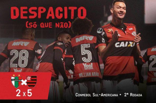 Palestino x Flamengo: assista aos melhores momentos do jogo