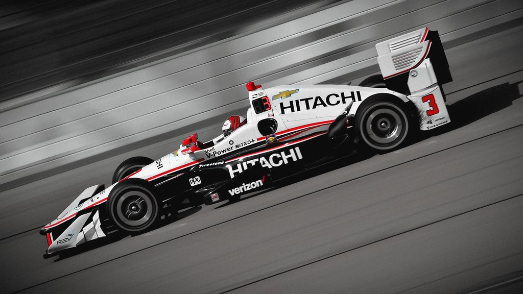 Castroneves na Indy