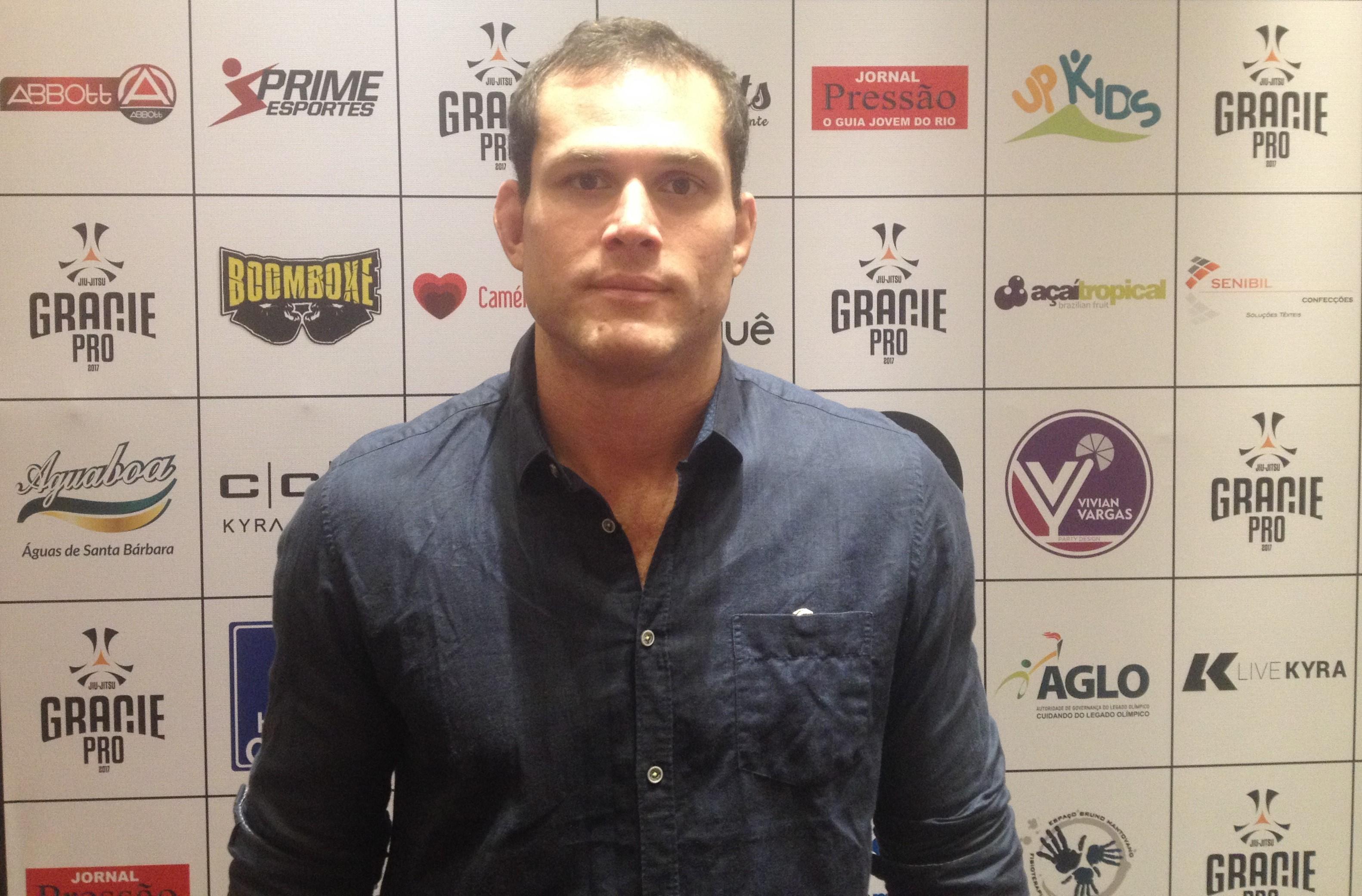 Roger Gracie fará revanche contra Marcus Buchecha no Gracie Pro (Foto: Renato Senna/Torcedores.com)
