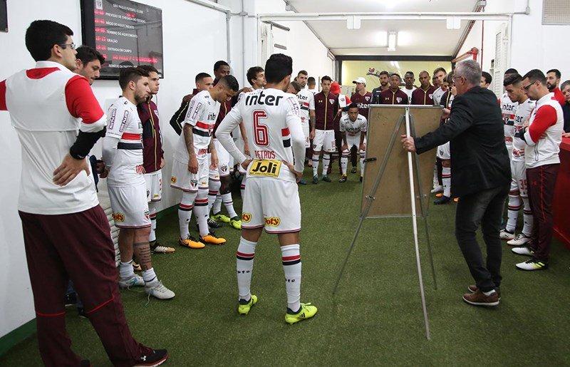 São Paulo x Cruzeiro escalações