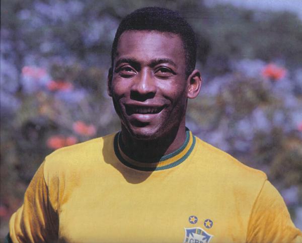 O lendário jogador da seleção brasileira, Pelé (Foto: Divulgação)