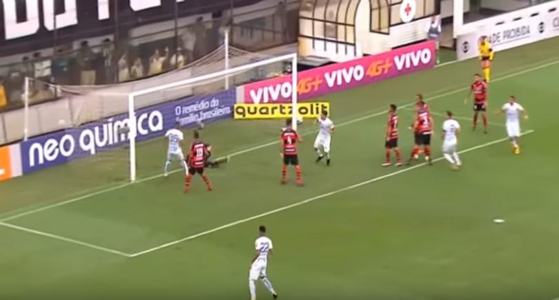 Santos x Atlético-GO: melhores momentos