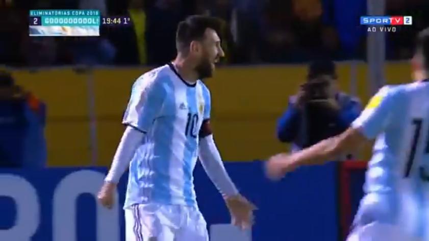 gols de Messi