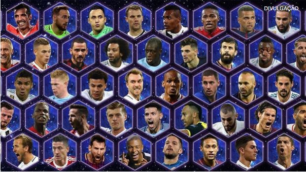 UEFA 50 melhores do ano
