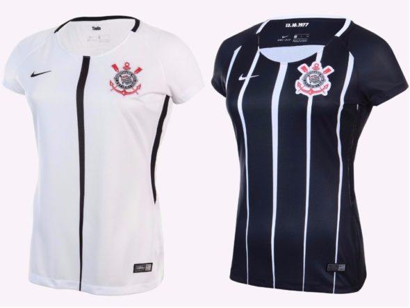 284f5ed798bbf Veja ofertas e onde comprar a camisa feminina do Corinthians