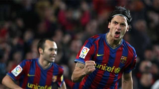 Ibrahimovic no Barcelona