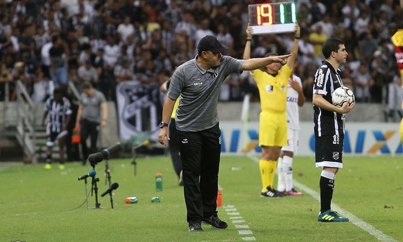 Marcelo Chamusca, técnico Ceará