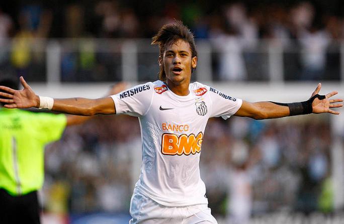 Neymar é uma das joias que saíram da base do Santos