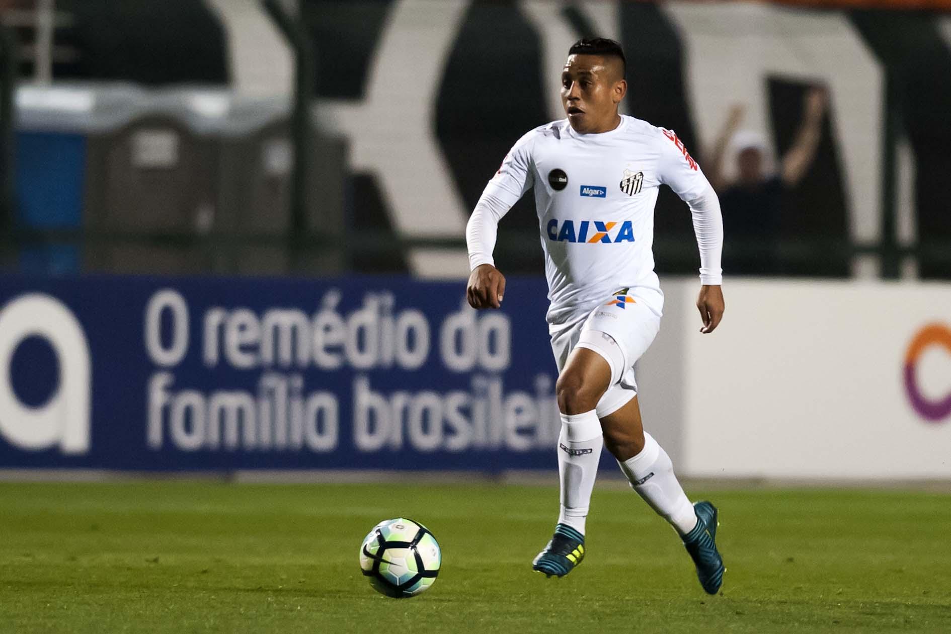 Vladimir Hernández próximo de deixar o Santos
