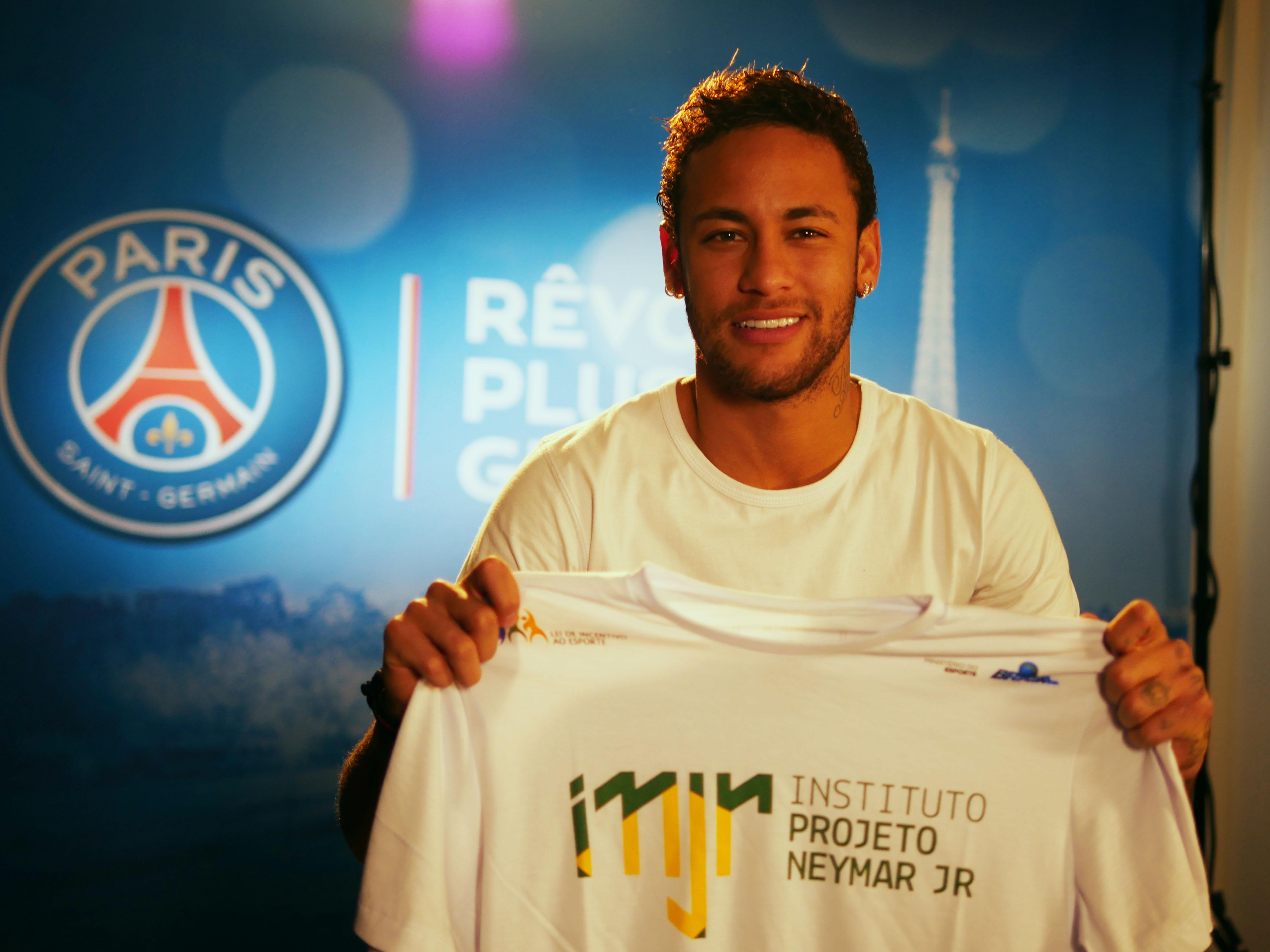 Instituto Neymar Conheça O Lado Caridoso Do Craque