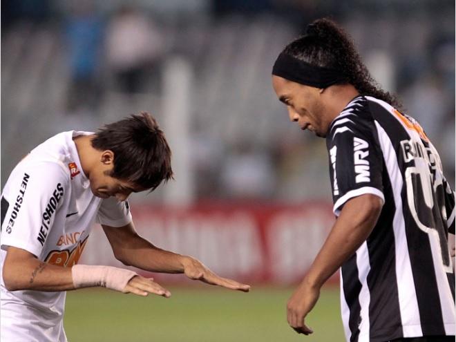 Neymar e Ronaldinho